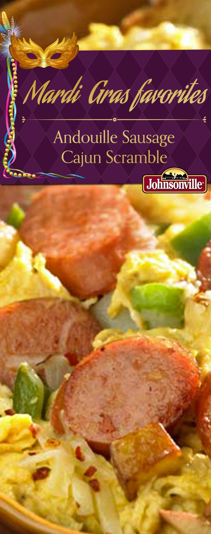 Andouille Sausage Cajun Scramble | Recipe | Chicken ...