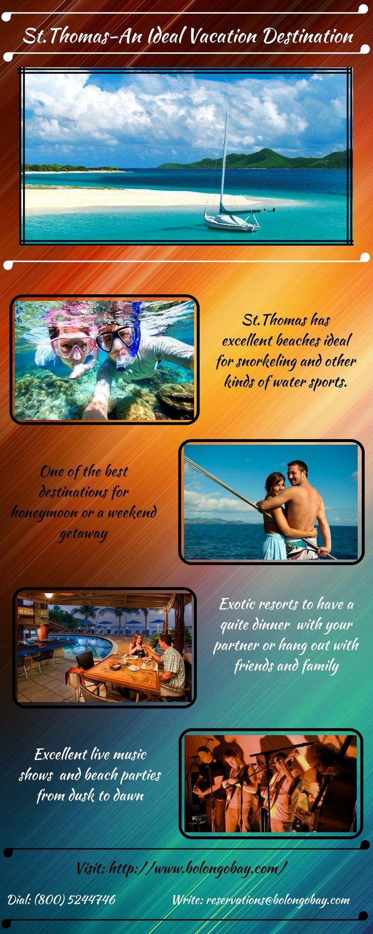 An all inclusive St.Thomas vacation package includes everything you wish for an ideal vacation.