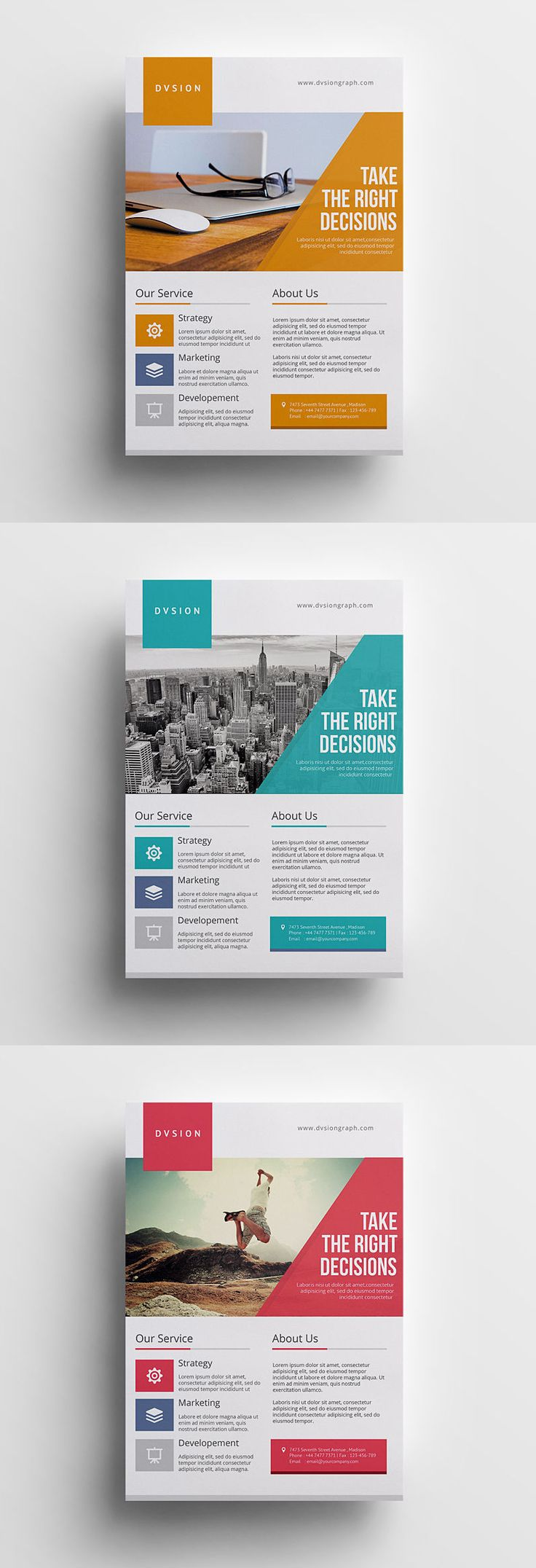 Best 25 Flyer design ideas – Half Page Flyer Template