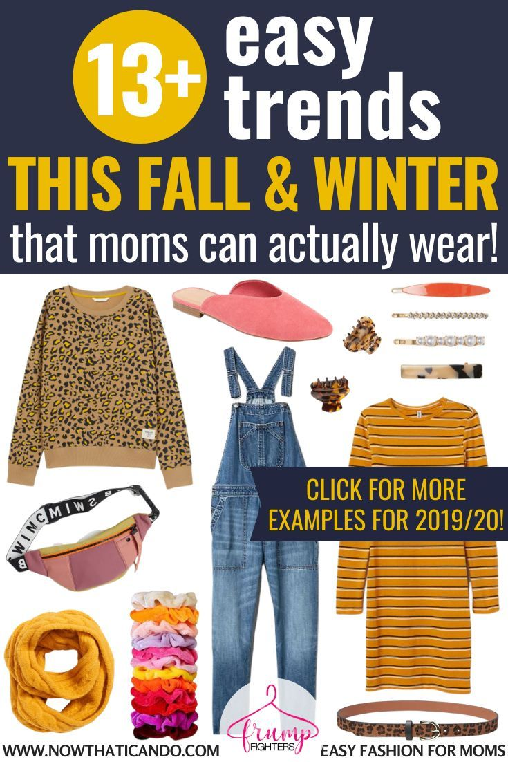 Fall & Winter 7/7 Fashion Trends That Anyone Can Wear  Easy