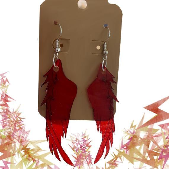 Earrings Hawks