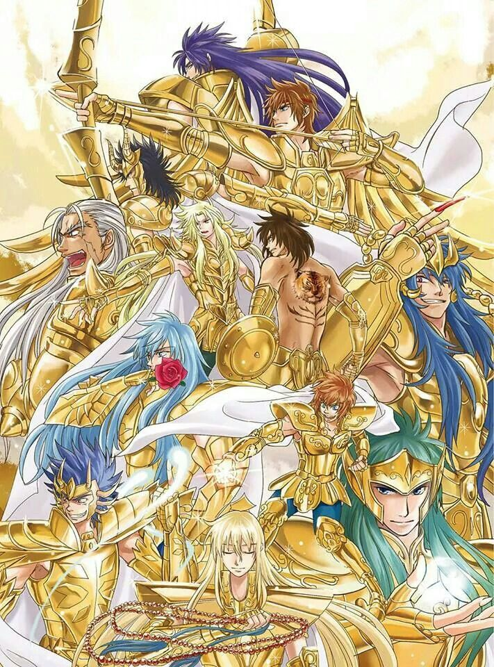 Saint seiya lost canvas.....