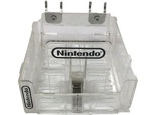 Official Game Case Clear Store Display - Nintendo