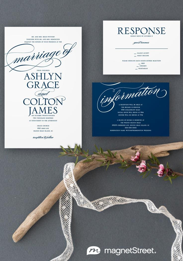 152 best Wedding Invitation Ideas images on Pinterest