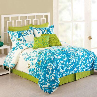 Presidio Square Flourish 8 Piece Comforter Set & Reviews   Wayfair