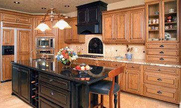 Golden/honey oak cabinet redo