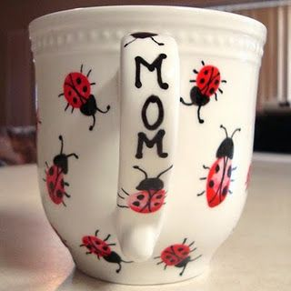 Thumbprint Ladybugs!!! OMG!!! New project for me and Addi to do!!!!