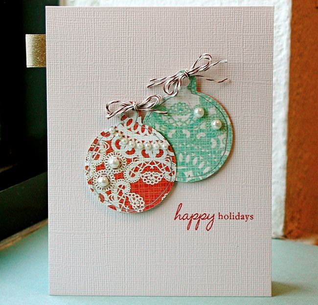 Diy holiday cards ornaments beads and things pinterest for Pinterest diy christmas cards
