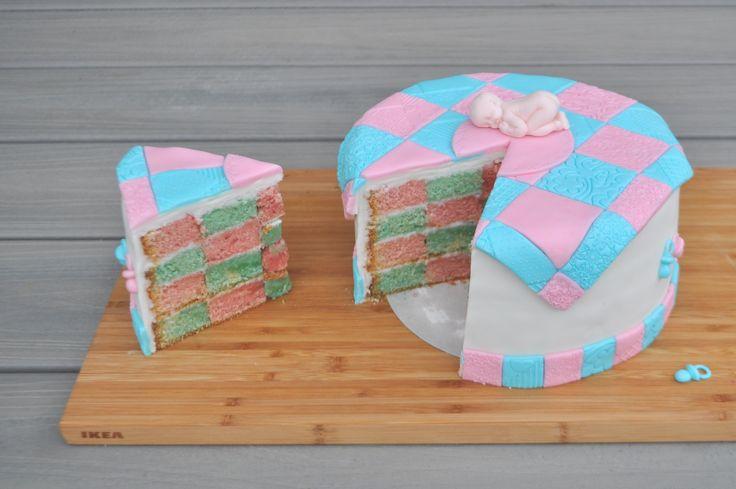 Checkerboard gendercake