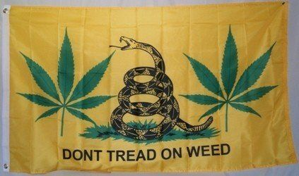 "3'x5' Gadsden ""DON'T TREAD ON WEED"" MARIJUANA FLAG, bonnaroo shrooms lollapalooza snake by .. $9.99. FlagDistributor does not necessarily endorse any meanings or connotations you may assign to this or any other flag, ""Meaning, like beauty, is in the eye of the beholder."" We support the spirit of the 1st Amendment to the U.S Constitution; Political censorship is UnAmerican and we don't practice it. Over 1,000 different designs in stock, perhaps the largest..."