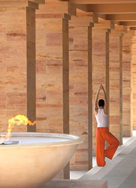 Cape Sounio Luxury Hotel | ELIXIR SPA RETREAT    Nourish your body and soul with an Ayurveda treatment especially administered by Indian therapists. An imposing 350 m² complex in 5.000 m² of landscaped gardens and sea view forest is a true sanctuary for the senses.