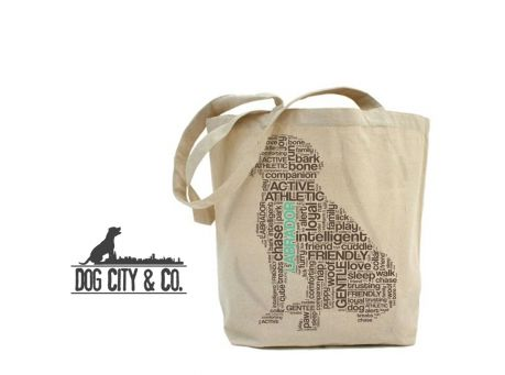 Dog & Cat Themed Canvas Tote Bags from Dog City & Co. on sale @Coupaw (MANY OPTIONS!)