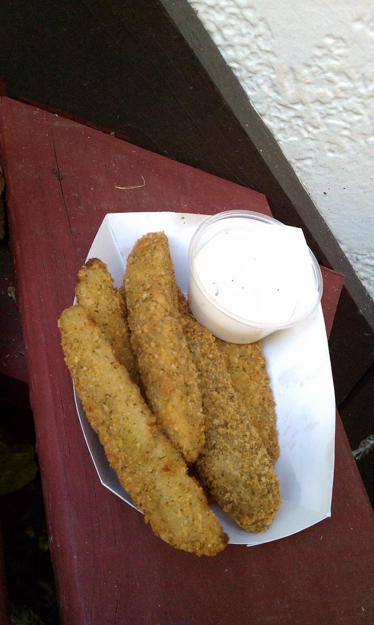 Fried Pickles - Renaissance Festival