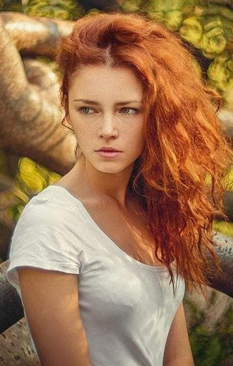 * • .¸ ♡ ♡ ♡ • *  Ginger Haare