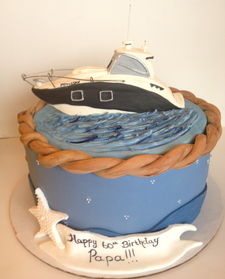 Boat cake - like the boat on this one