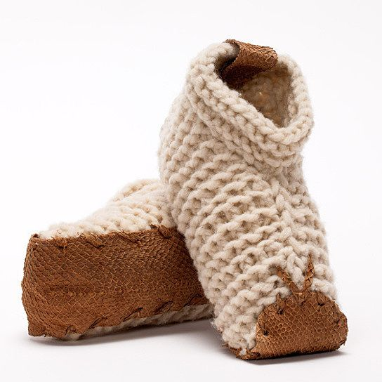 Fair Trade Wool House Shoes from Sacred Sleep. So cozy!