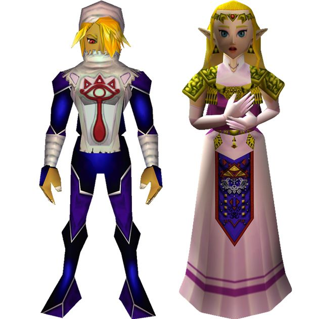 """I got Zelda / Sheik! Which """"Legend Of Zelda: Ocarina Of Time"""" Character Are You? Sweet thats who i was hoping for!!"""
