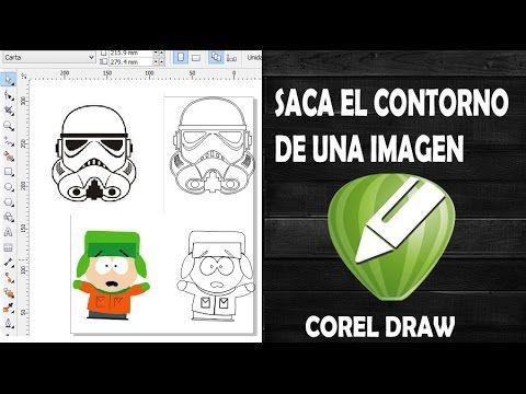 Cómo sacar el contorno de una imagen en Corel Draw [Vectorización Rápida]