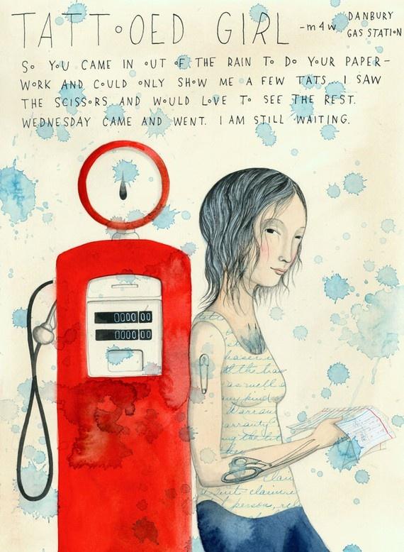 Sophie Blackall | Brush Strokes & Scribbles | Ilustraciones