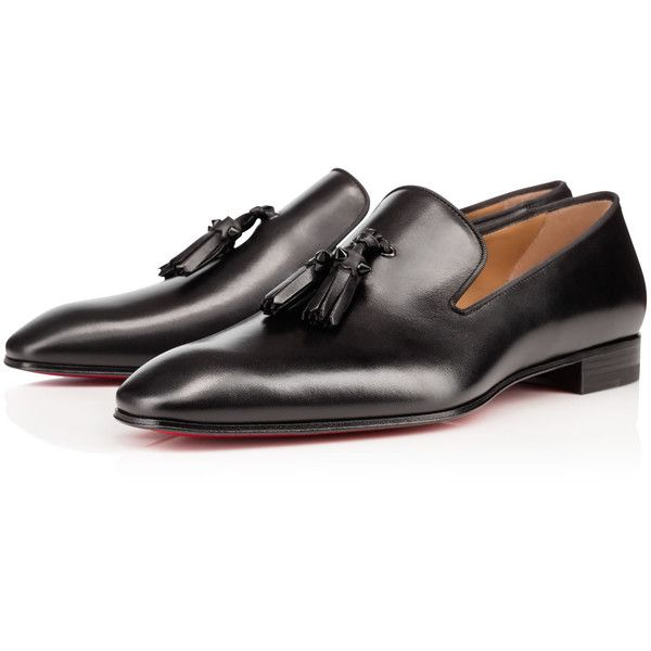 Christian Louboutin United States Official Online Boutique - Dandelion  Tassel Flat Black Leather available online. Discover more Men Shoes by  Christian ...