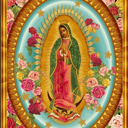 I've always been inspired by the images of Our Lady of Guadalupe - so beautiful