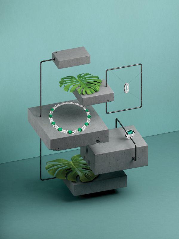 Geometric Gems on Behance