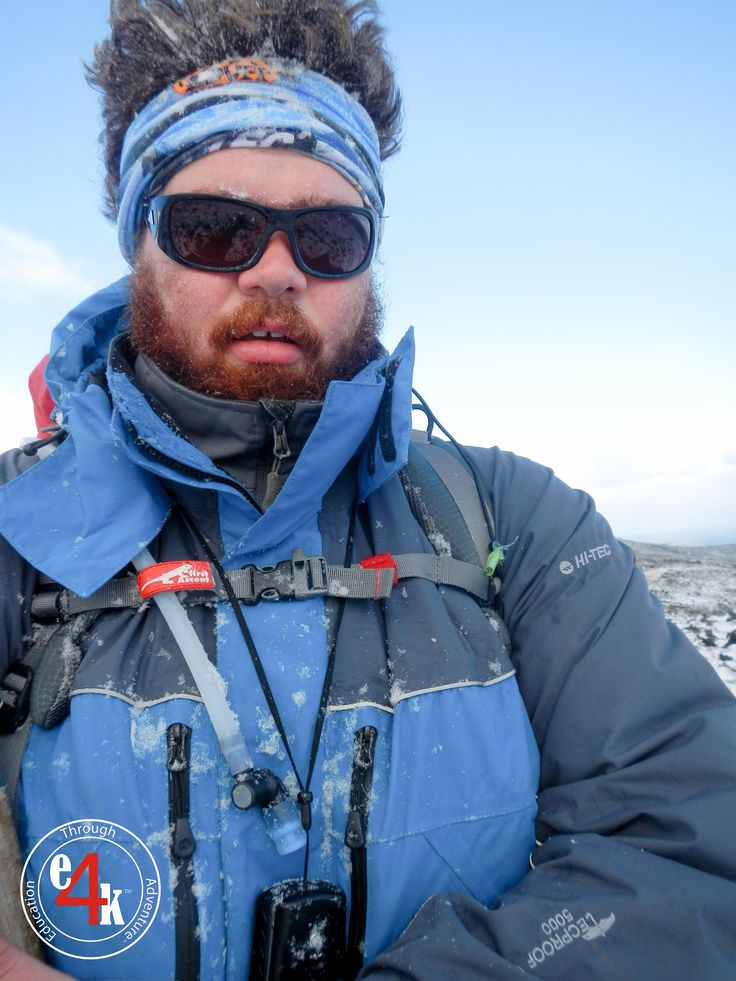 #HiTec #SouthAfrica Outer and Mid shell working in the Snow and Ice of the #Sub-Antarctic as #e4k_JohnLucas tests out some new gear for the team, though the trusted #Buff and #Adidas #Eyewear are essential items for any expedition @johnlucas_co_za #explore4knowledge #e4k