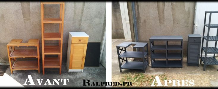 Relookage de mes meubles de salle de bains