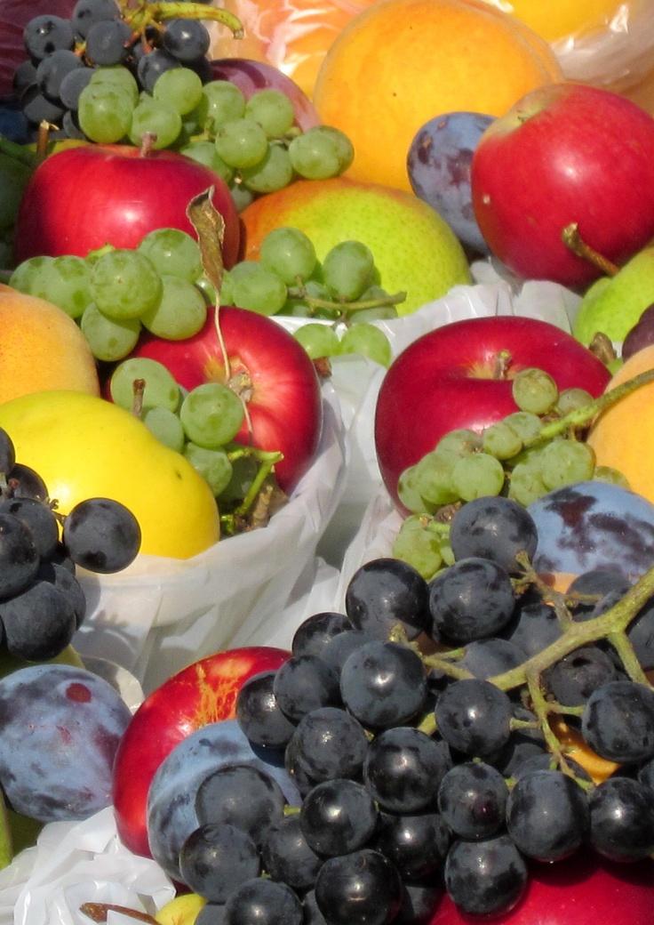 Eat as much Okanagan Fruit as i can