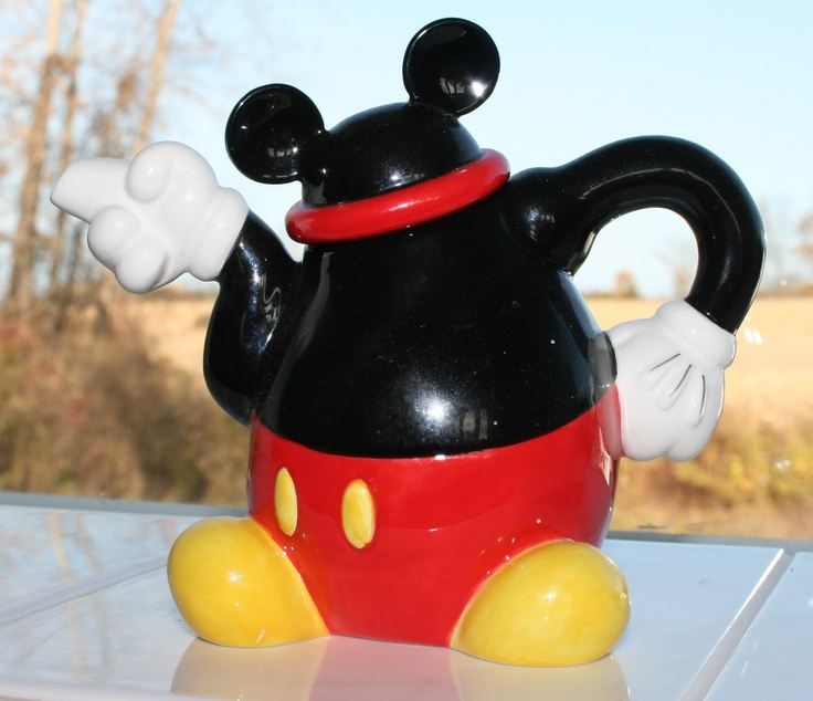 Mickey tea pot