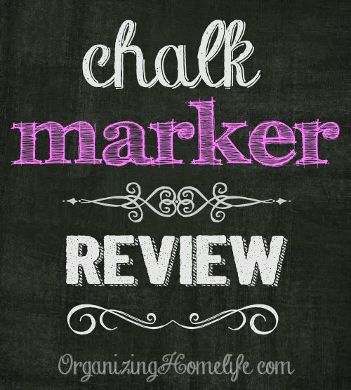 Chalk Marker Review