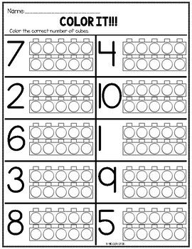 kindergarten math worksheets  learning  pinterest  kindergarten  free kindergarten math worksheets focusing on a variety of skills including  numbers to  teen numbers shapes addition and subtraction and number  bonds