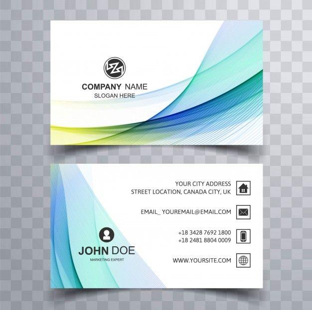 Corporate Business Karte Vector Free Download Plus