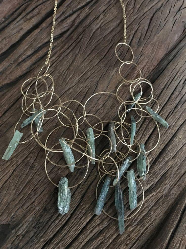 Green Kyanite Jumble Necklace