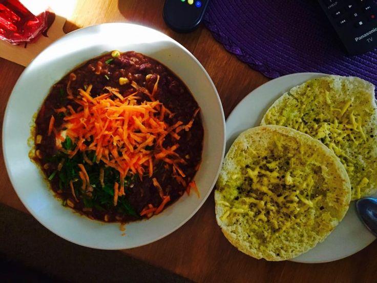 Zupa meksykańska z pitą i serem - zgara.pl #chilliconcarne #mexicanfood #mexico #texmex #food #streetfood #slowfood