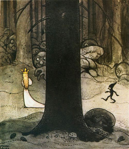 John Bauer is one of the most under-rated artists ever...his artwork always makes me think of my sister!