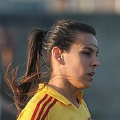 Thaisa de Moraes Rosa Moreno, commonly known as Thaisa or Isa Moreno, is a Brazilian football midfielder who plays for Damallsvenskan club Tyresö FF and the Brazil women's national football team. (WIKI)