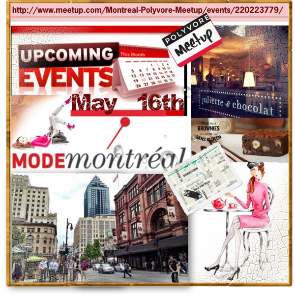Montreal Polyvore Meetup May 16th 2015 by sisilem on Polyvore featuring art, polyvoremeetup and PolyvoreMontreal
