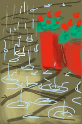 iPhone Drawing, 2009 - by David Hockney