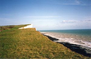 The cliffs of Sussex