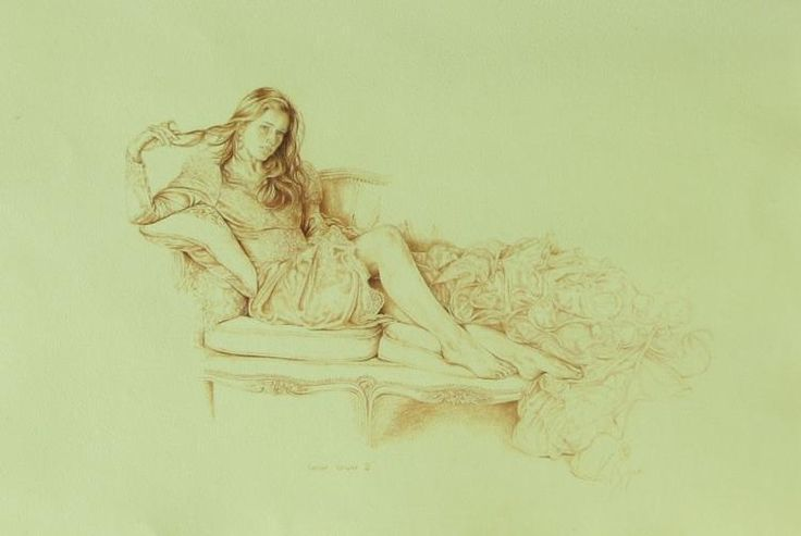 Satin Gown 2 by Kay Boyce