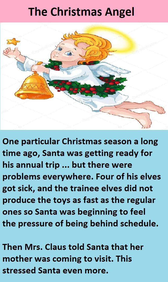 The Christmas Angel Funny Christmas Story Funny Humor Jokes Christmasfunnyjokes Christmasjokes Christ Christmas Angels A Christmas Story Christmas Humor