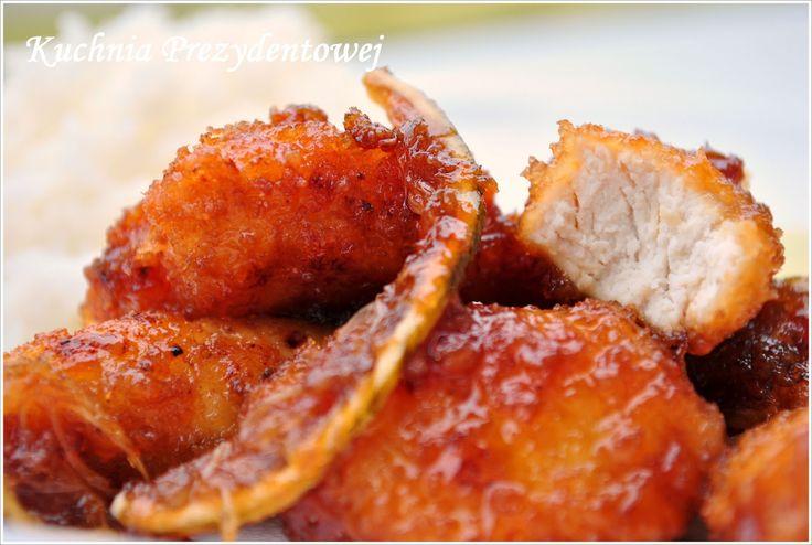 Kuchnia Prezydentowej: Kurczak cytrynowy (Lemon Chicken)