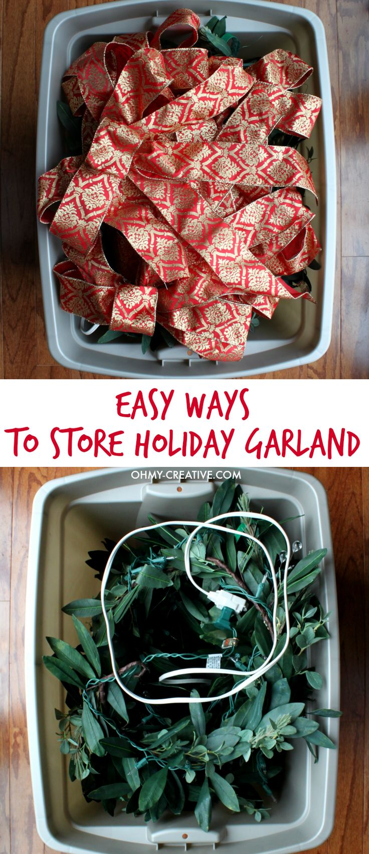 Storage For Christmas Decorations 17 Best Images About Christmas Storage On Pinterest Popcorn Tins