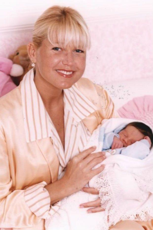 Xuxa e sua filha Sasha , hoje com 18 anos.