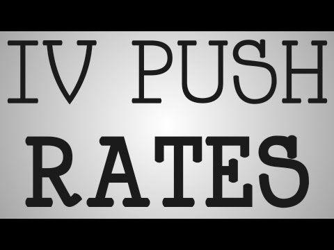 Phenergan Iv Push Rate