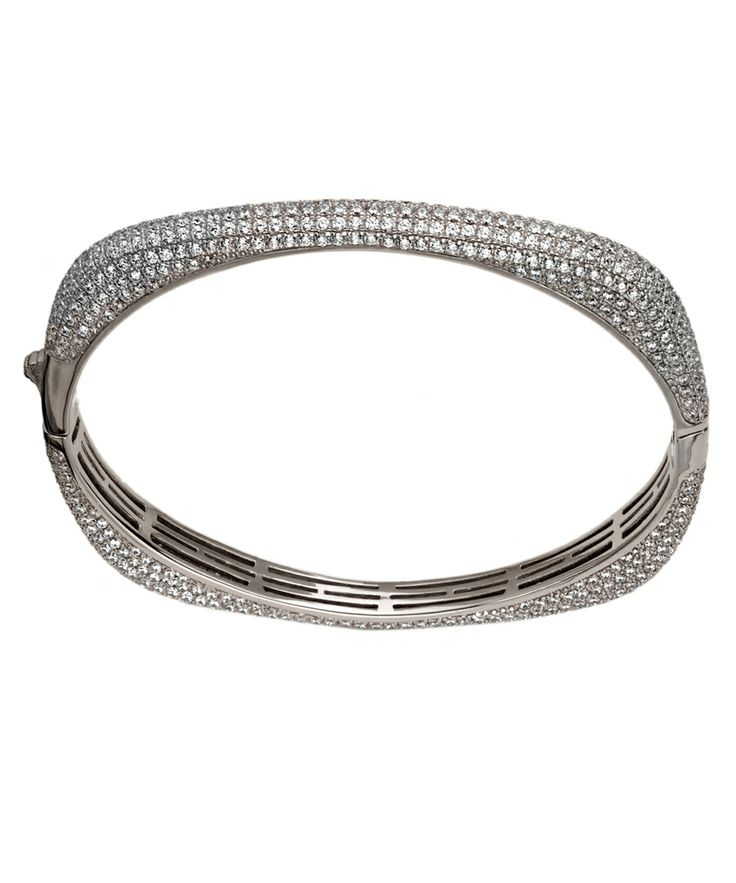 sterling pin simon square bracelet bangle sebbag rounded silver bangles