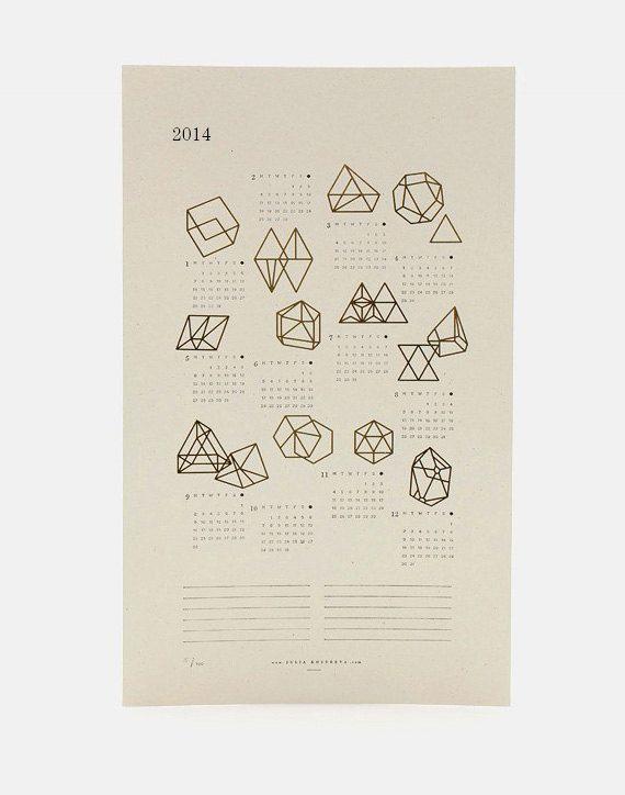 2014 Prisms Calendar