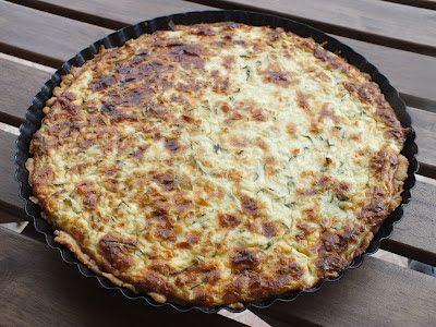 Ízőrző: Cukkinis pite (quiche)