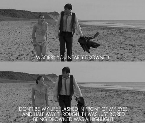 The Decoy Bride. Kelly MacDonald and David Tennant. I love this movie more each time I see it.